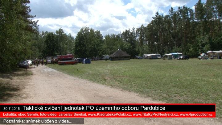 30.7.2016 - Taktické cvičení Semín, Jaroslav Smékal, www.KladrubskePolabi.cz